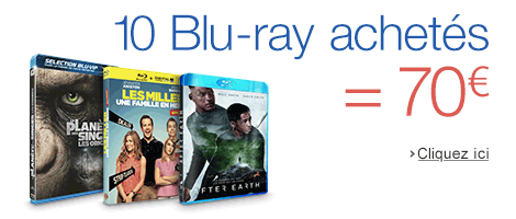 10 Blu-ray = 70 euros
