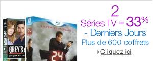 3 Séries TV = -33%