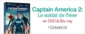 Captain America: Le Soldat de L'hiver en DVD, Blu-ray & Blu-ray 3D