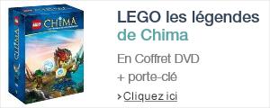 LEGO Chima en DVD