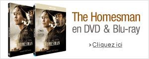 The Homesman en DVD, blu-ray