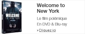Welcome to new york en DVD, blu-ray