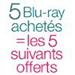 5 Blu-ray = 5 offerts