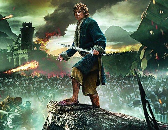 Le hobbit a bataille des cinq armées
