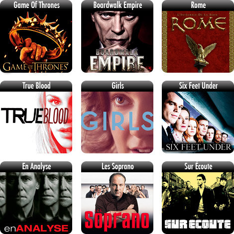 Les S�ries TV HBO