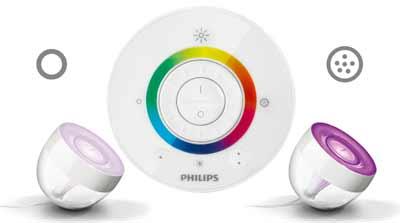 philips living color m philips 7099960ph livingcolors iris clear dcoration lampes d - Lampe Living Color
