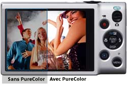PureColour offers excellent visibility†