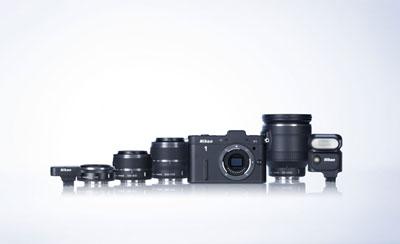 Captures d'écran du Nikon 1 V1