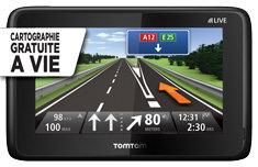 Conduisez toujours avec la carte la plus récente. Arrivez plus rapidement à destination avec la cartographie GRATUITE à vie.