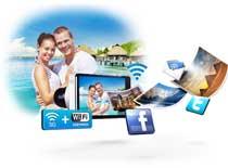 Connectivité sans fil (3G & Wi-Fi)