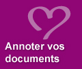 Annoter vos documents