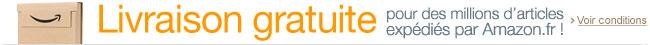 Livraison gratuite pour des millions d'articles expédiés par Amazon.fr ! (Voir conditions.)