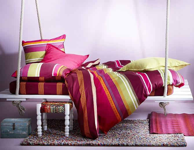 Linge de maison textile for Ikea housse canape bz