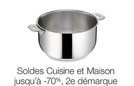 Soldes Cuisine et Maison jusqu'à 60% et Bons Plans