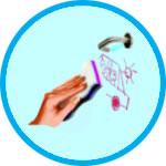 humidifiez l g rement la gomme avant utilisation avec de l eau frotter la tache effacer. Black Bedroom Furniture Sets. Home Design Ideas