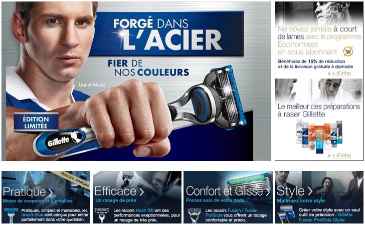 Homepage Boutique Gillette