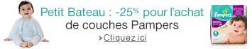 Pampers Petit Bateau