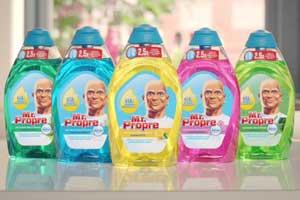 Mr Propre nouveau gel liquide