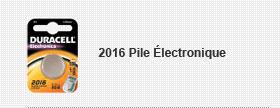 2016 Pile Électronique