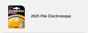 2025 Pile Électronique