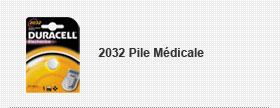 2032 Pile Médicale