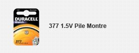 377 1.5V Pile Montre