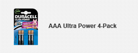 AAA Ultra Power 4-Pack
