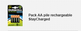 Pack AA pile rechargeable StayCharged