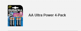 AA Ultra Power 4-Pack