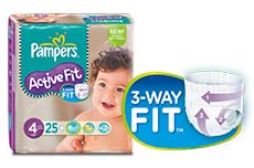 Pampers la plus absorbante