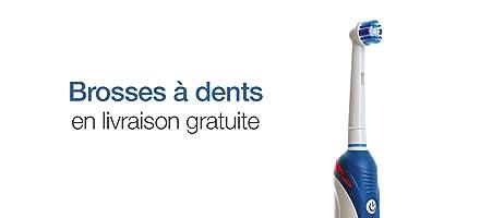 Brosses à dents électriques en livraison gratuite