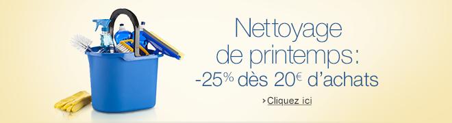 Promotion Nettoyage de Printemps