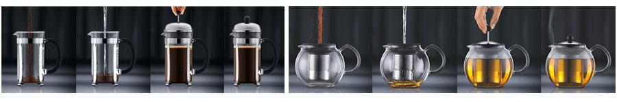 Bodum cafeti res et th i res piston - Quel cafe pour cafetiere a piston ...