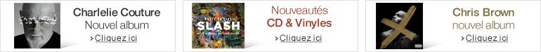 Nouveautés CD musique de la semaine