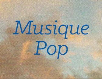 Musique Pop en soldes