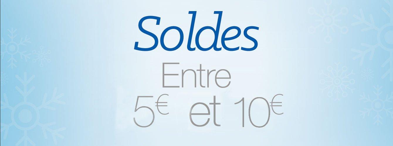 soldes de 5 à 10€