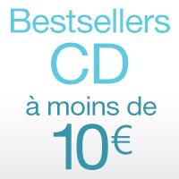 Bestsellers CD à moins de 10€