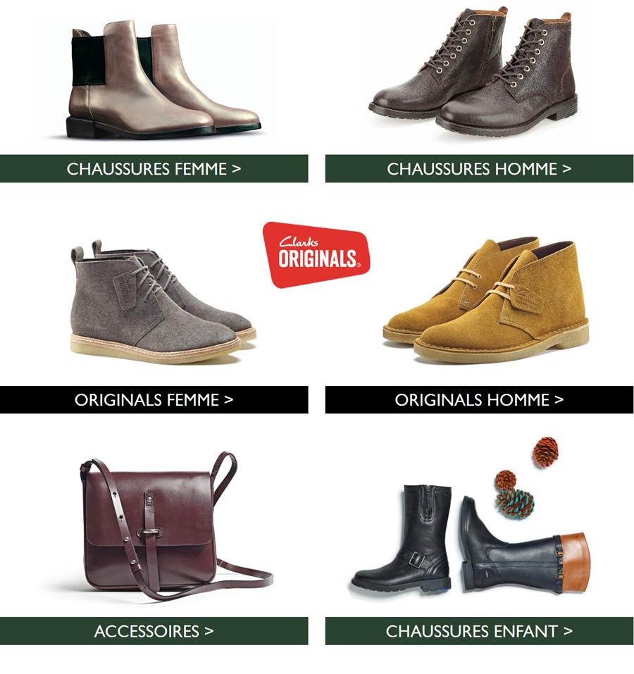 Boutique Clarks Automne-Hiver 2015
