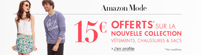 Nouvelle collection mode : 15� offerts