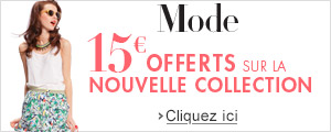 Nouvelle collection : 15� offerts