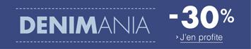 Promotion Jeans : -30% avec le code DENIMANIA