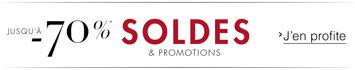 Soldes et promotions Vêtements
