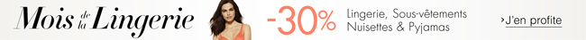Lingerie -30%