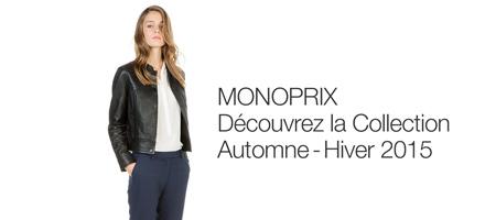 Decouvrez la collection automne-hiver Monoprix