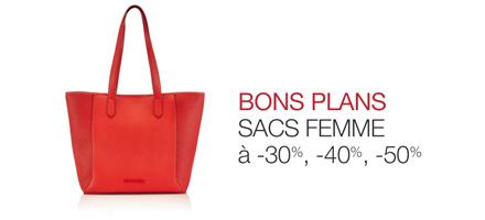 Promotions et bons plans SACS pour femme