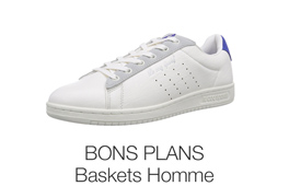 Promotions et bons plans : baskets homme