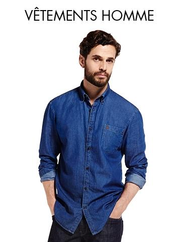 Vêtements Homme - Soldes et bons plans