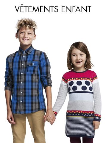 Vêtements Enfant - Soldes et bons plans