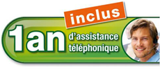 1 an d'assistance inclus