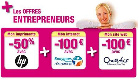 Offres entrepreneurs